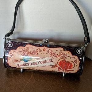 Little earth Rhinestone cowgirl purse